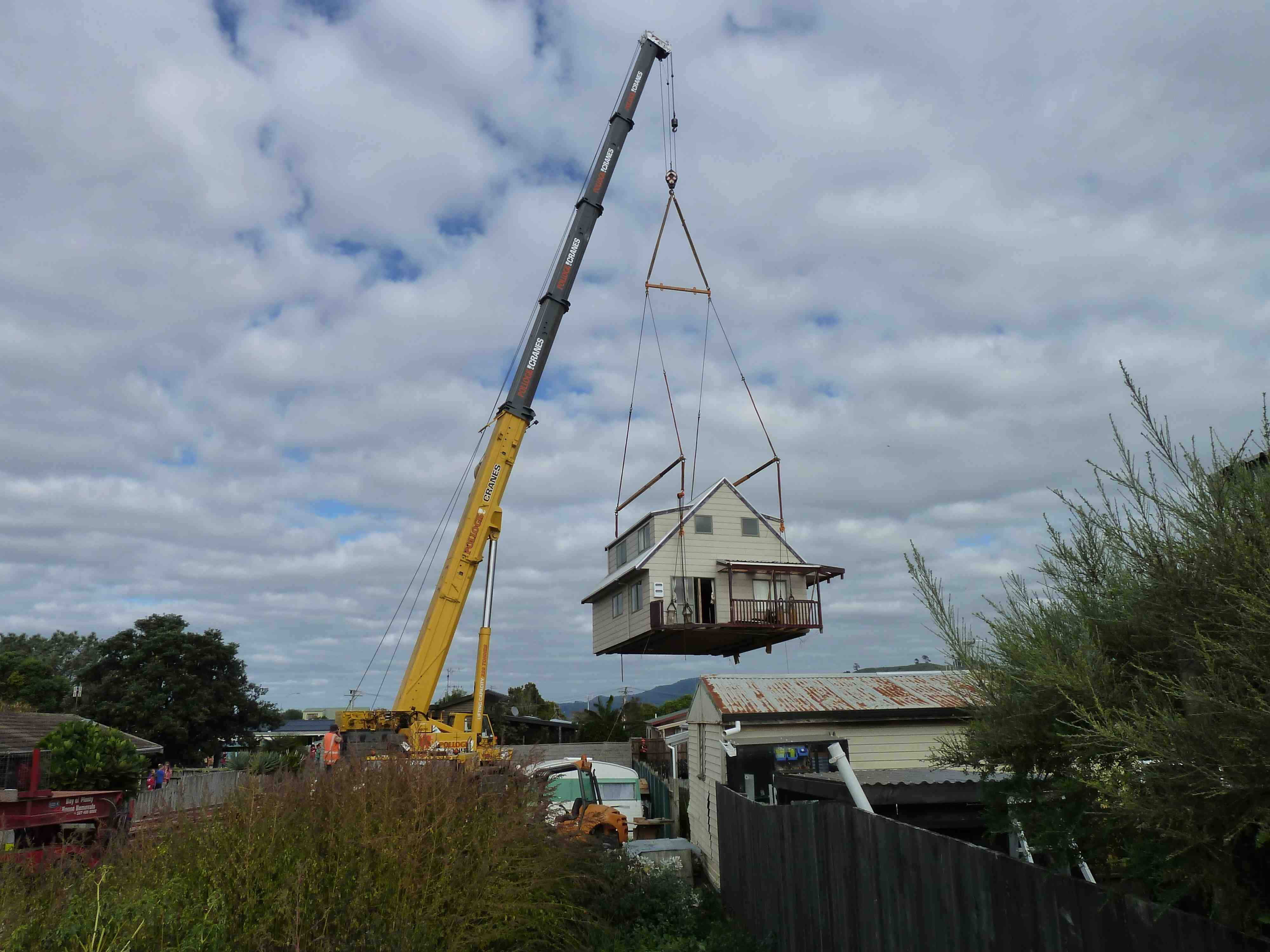 Cranes Aren 39 T Scary The Relocatable House Co The
